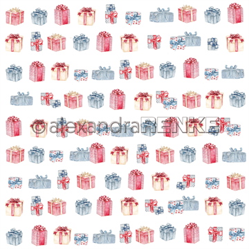 "Happymade - Alexandra Renke - 12x12"" - Christmas Kids - Presents - 10.1505"