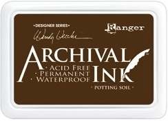 Happymade - Archival Ink Pad - Potting Soil