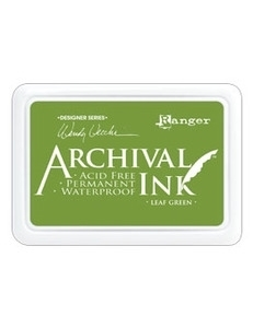 Happymade - Archival Ink Pad - Leaf Green