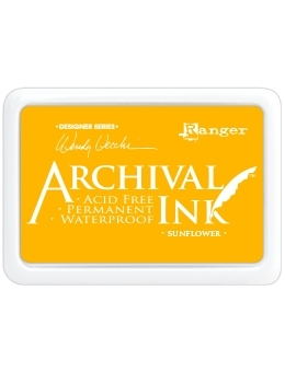 Happymade - Archival Ink Pad - Sunflower