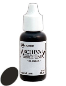 Happymade - Archival Ink Re-Inker - Jet Black