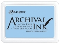 Happymade - Archival Ink Pad - French Ultramarine