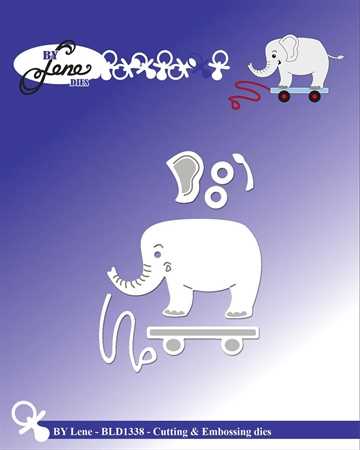 Happymade - By Lene Design - Die - Elephant - BLD1338