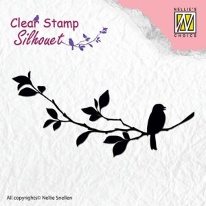 Nellie Snellen clear stamp - SIL005