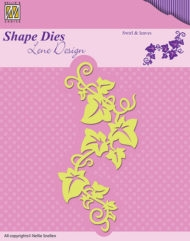 Nellie Snellen die - Lene Design - Swirl & leaves