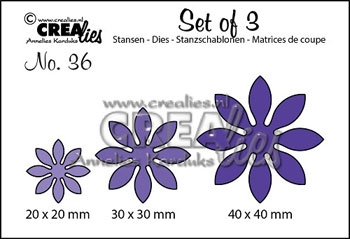 Happymade - CREAlies - Die - Flowers - CLSet36