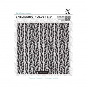 Xcut embossing folder - Herringbone