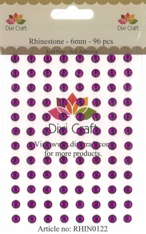 Dixi Craft - Rhinsten - 6mm - Violet