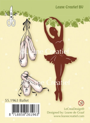 Leane Creatief clear stamp - Ballet