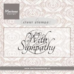 Marianne Design clear stamp - CS0928