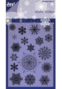 Joy Clear Stamp - Winter Wishes - Snowflakes (6410/0125)