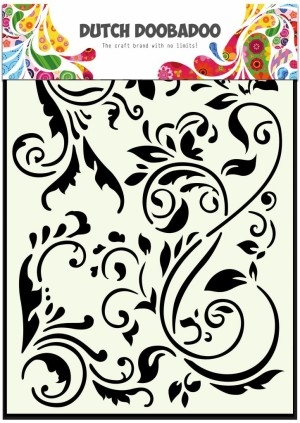 Dutch Doobadoo - Mask art - A5 - Swirls