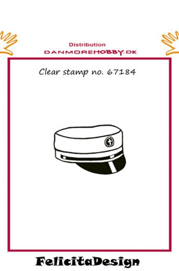 Felicita Design clear stamp - Studenterhue - 67184