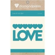 Diamond Press - Word dies - Love and hearts