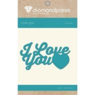 Diamond Press - Word dies - I love you