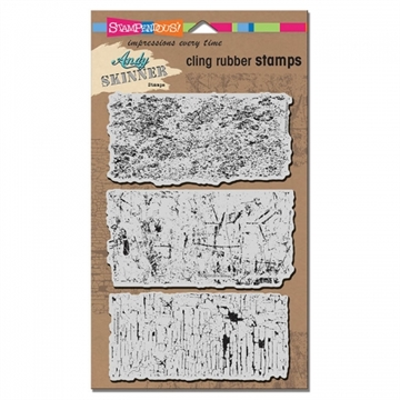 Stampendous - Cling Rubber Stamp Set - Industrial