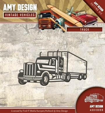 Amy Design Die - Truck - ADD10099