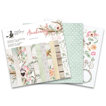 "Happymade - Piatek - Design papers - Awakening - 6x6"" (pakn. m/24 + 2 bonus ark)"