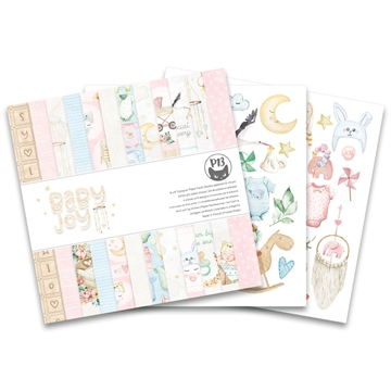 "Happymade - Piatek - Design papers - Baby Joy - 6x6"" (pakn. m/24 + 2 bonus ark)"
