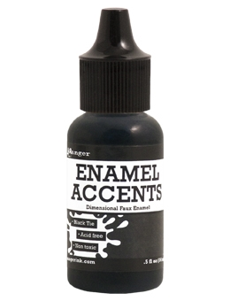 Ranger - Enamel Accents - Black Tie - 14ml