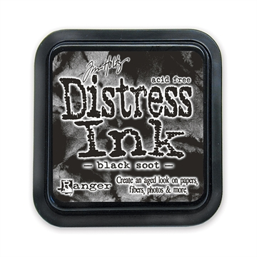 Ranger - Tim Holtz - Distress Ink Pad - Black Soot