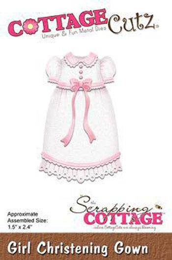 CottageCutz - Girl Christening Gown