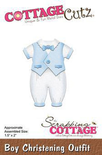CottageCutz - Boy Christening Outfit