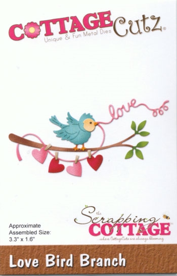 CottageCutz - Love Bird Branch