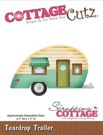 Happymade - CottageCutz Teardrop Trailer - CC033