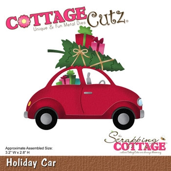 Happymade - CottageCutz Holiday Car - CC192