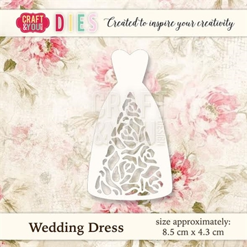Craft & You Design - Die - Wedding Dress (CW021)