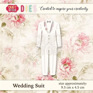 Craft & You Design - Die - Wedding Suit (CW022)