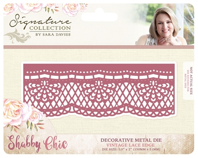 Crafter\'s Companion - Die - Vintage Lace Edge