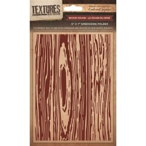 Crafter's Companion - Embossing folder - Wood Grain