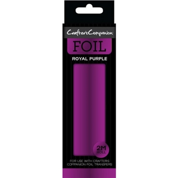 Crafter's Companion - Foil Roll - Royal Purple