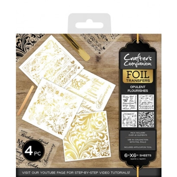 Crafter's Companion - Foil Transfers - Opulent Flourishes