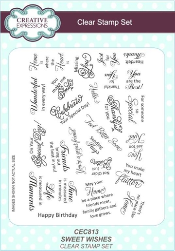 Creative Expressions - Clear Stamps - CEC813