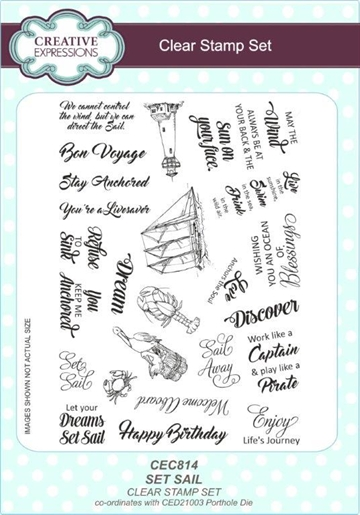 Creative Expressions - Clear Stamps - CEC814