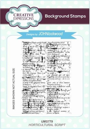 Creative Expressions - Cling Stamp - UMS779