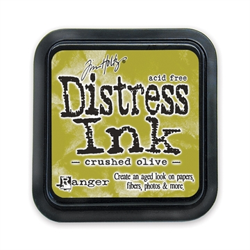 Ranger - Tim Holtz - Distress Ink Pad - Crushed Olive