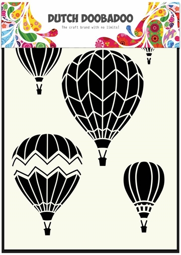 Dutch Doobadoo - Mask art - A5 - Airballoons