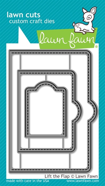 Lawn Fawn die set - Lift the Flap