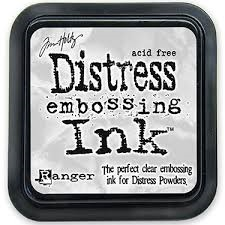 Ranger - Tim Holtz - Distress Embossing Ink - Clear