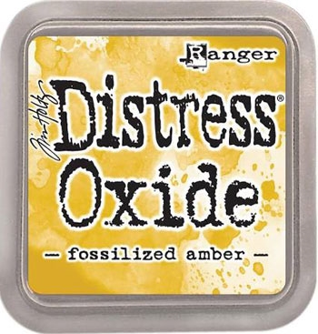 Ranger - Tim Holtz - Distress Oxide Ink Pad - Fossilized Amber
