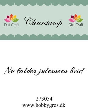 Dixi Craft clear stamp - 273054