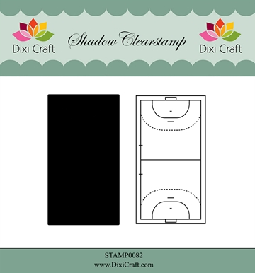 Dixi Craft - Clear stamp - Handball (STAMP0082)