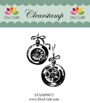 Dixi Craft clear stamp - STAMP0072