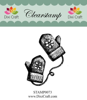 Dixi Craft clear stamp - STAMP0073