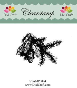Dixi Craft clear stamp - STAMP0074