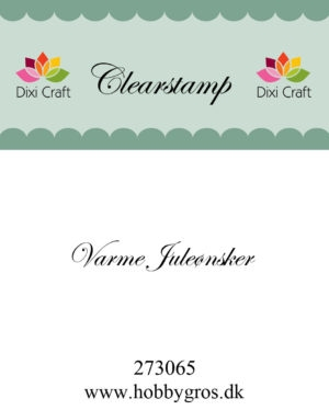 Dixi Craft clear stamp - 273065